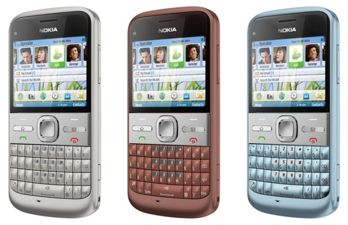 Nokia E5 Смартфон