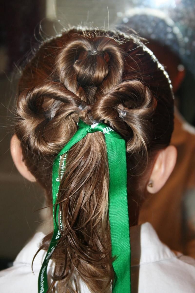 Прически для девочек на выпускной с длинными волосами фото