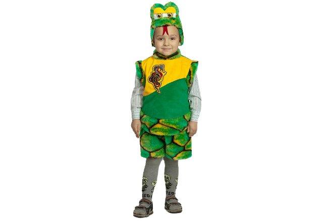 Новогодний костюм змеи для ребенка