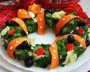 Украшение праздничных блюд: готовимся к Новому году
