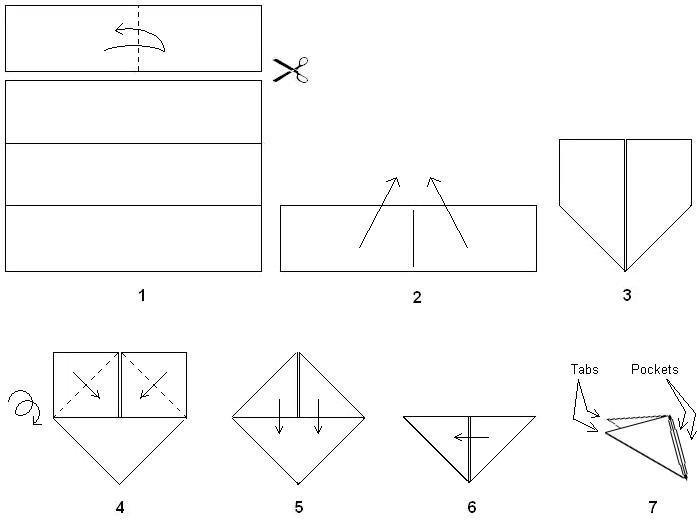 Как сделать из модулей зайца по схеме