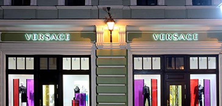 Открылся новый бутик Versace в Москве