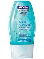 Nivea Clean deeper Пилинг-гель