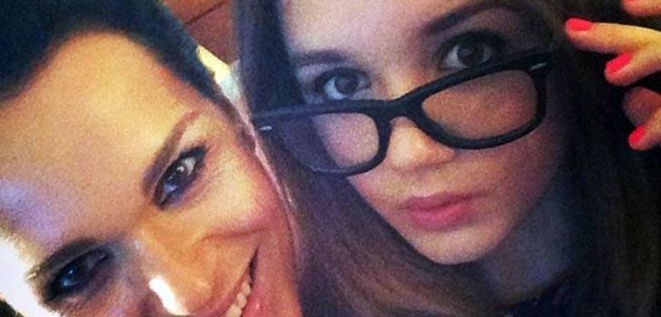 Певица Слава приучает свою дочь к диете