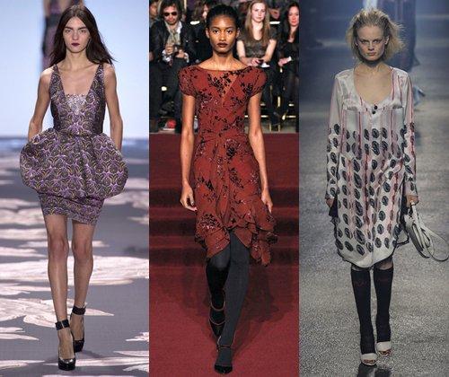 Модные платья осень зима 2013-2014 (фото): какие платья будут самыми модными в 2014 году?