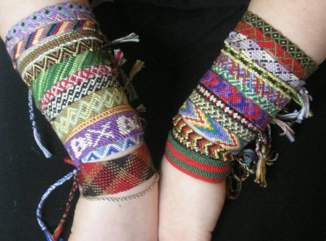 Плетение фенечек для начинающих