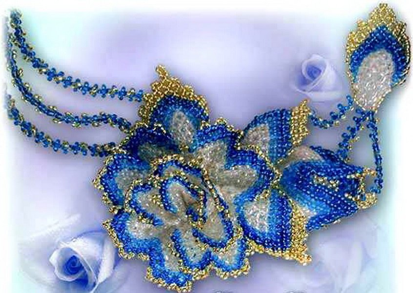 Плетение из бисера для начинающих и не только