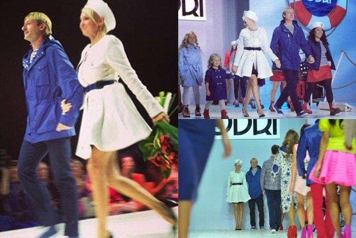 Плющенко и Рудковская представили новую коллекцию ODRI