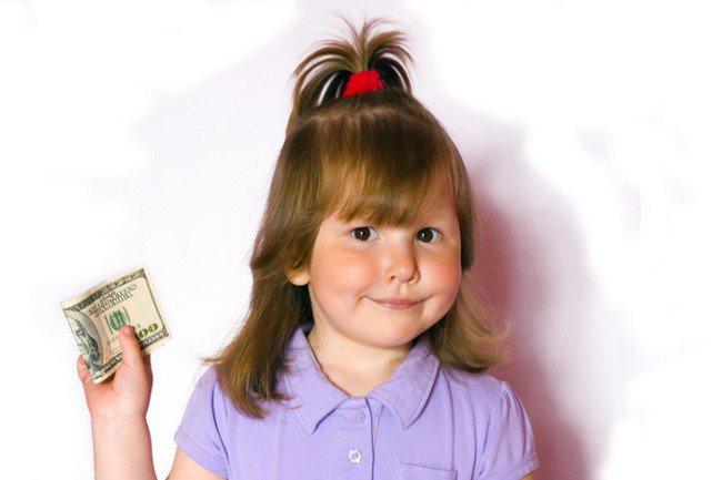 Сколько денег давать ребенку?