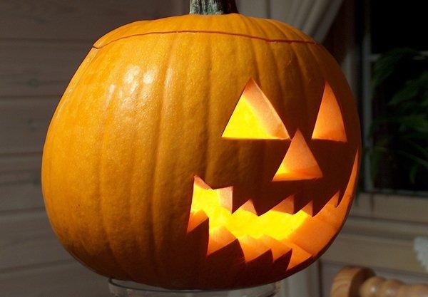 Поделки из тыквы на Хэллоуин 2014