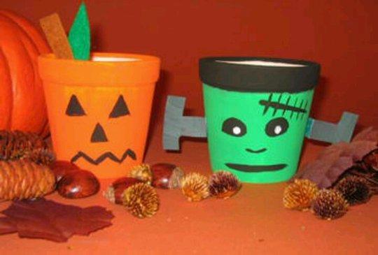 Поделки на Хэллоуин 2014 своими руками