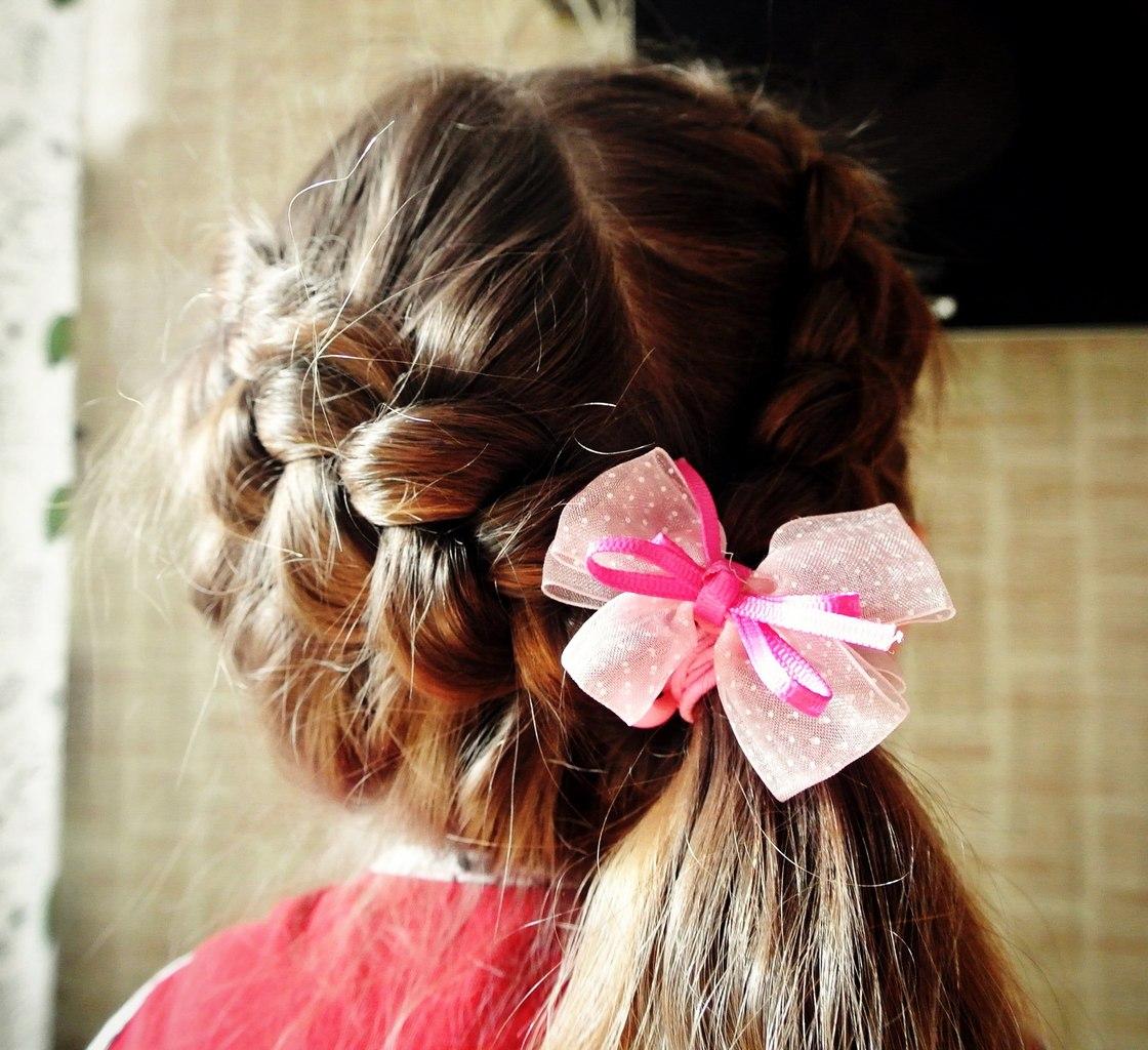 Фото новогодних причёсок для девочек