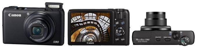 Canon PowerShot S90 Цифровая камера
