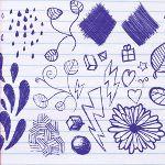 О чем говорят рисунки на полях тетради