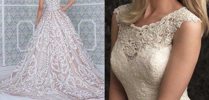 Пышные свадебные платья - 2014