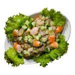 Латвийский салат и английский пунш