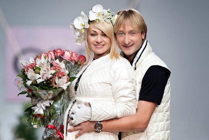 Рудковская и Плющенко планируют ещё троих детей