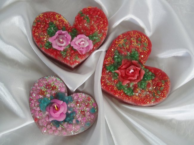 Подарки на День влюбленных: романтические свечи