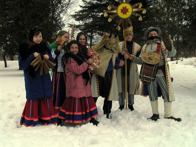 Щедривки (щедровки) на русском и украинском языке, Щедрый вечер