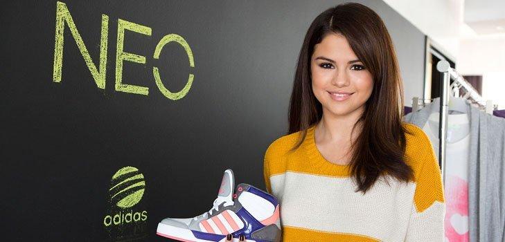 Селена Гомез представляет новую молодежную коллекцию от Adidas