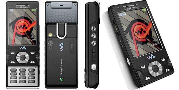 Sony Ericsson Walkman W995 Мобильный телефон