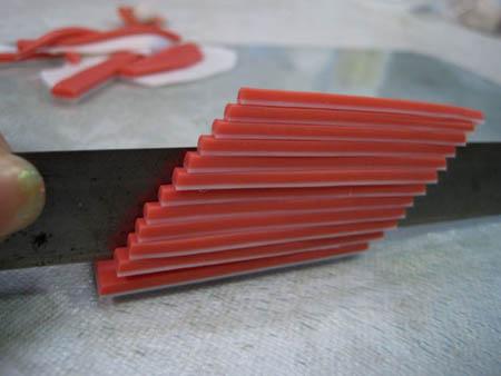 Как сделать серьги-суши из полимерной глины