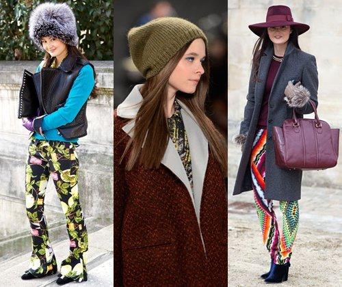 Модные шапки зима-2014 (фото): какие мужские и женские шапки будут модными в 2014 году