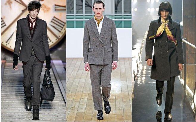 Шейный платок – мужской предмет на службе женского гардероба