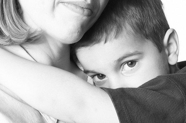 Застенчивый ребенок