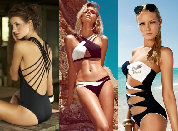 Солнце, лето море, пляж: модные купальники 2014