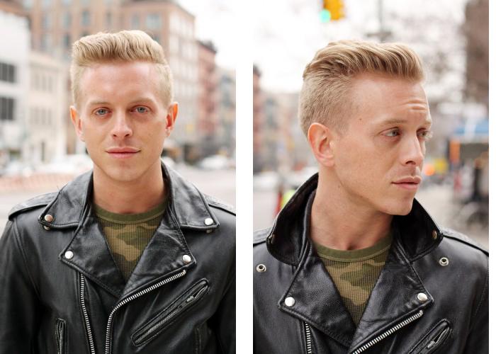 Причёски с выбритыми висками мужские
