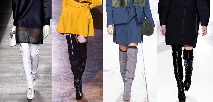 Стильная, но не вульгарная: выбираем модные ботфорты вместе с Эконика