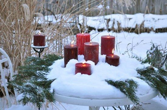 Как декорировать свечу своими руками
