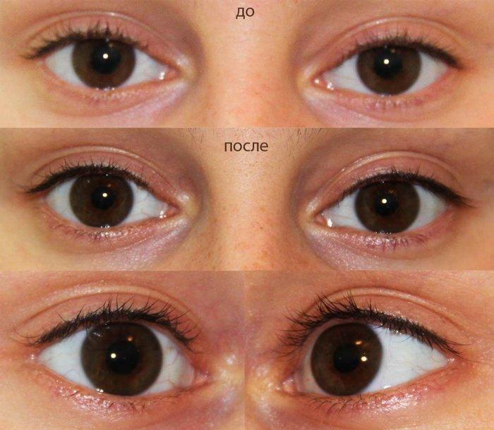 Перманентный макияж глаз межресничный