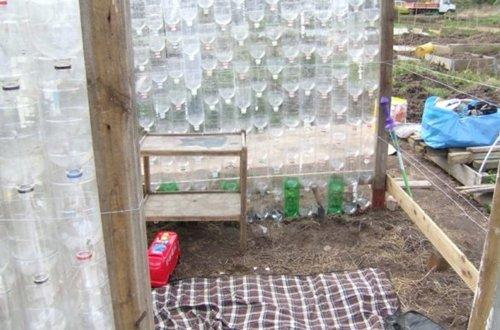 Как сделать парник из пластиковых бутылок своими руками в домашних условиях 88
