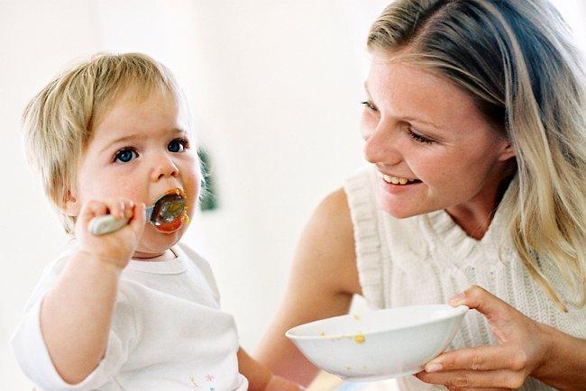 Примерное меню ребенка до двух лет