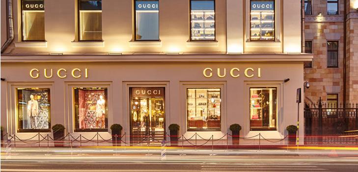 В Москве открылись сразу два фирменных магазина Gucci