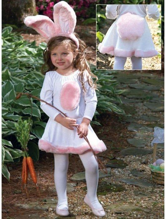 Детский костюм зайчик своими руками