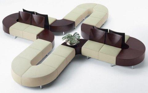 Выбираем диван для посетителей