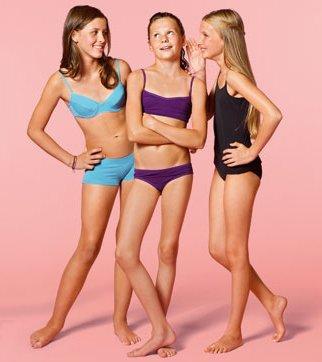 девочки-подростки в нижнем белье фото