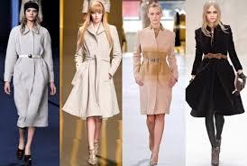 Выбор пальто с учетом особенностей фигуры