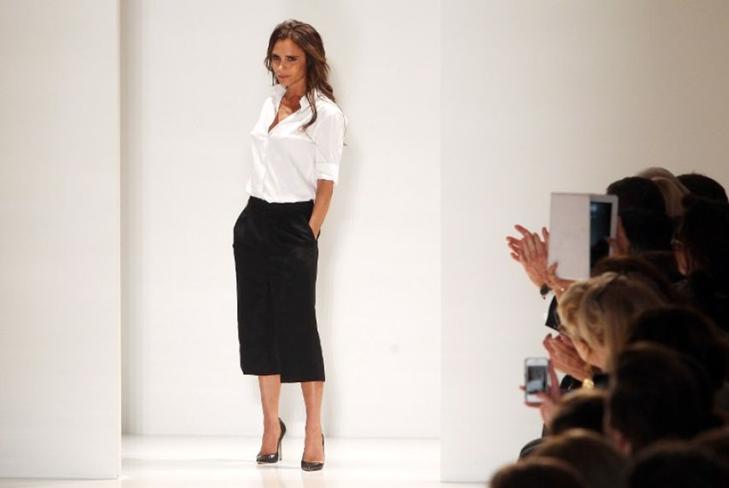 Успех Виктории Бэкхем на Неделе моды в Нью-Йорке