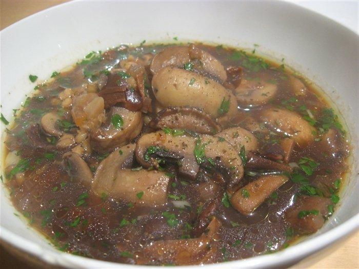 грибовница из белых грибов рецепт с фото