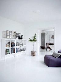 Интерьер в белом цвете