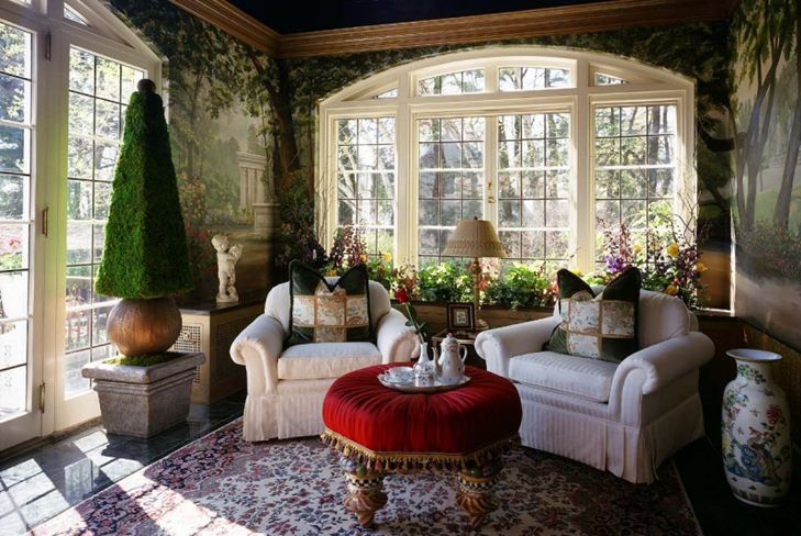 Зимний сад своими руками за один сезон: интерьер зимнего сада