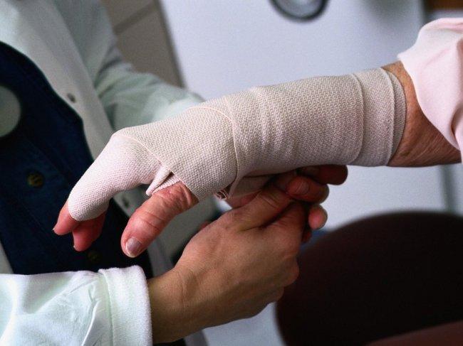 Травма на работе