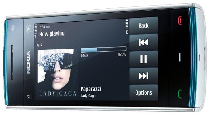 Nokia X6 Смартфон