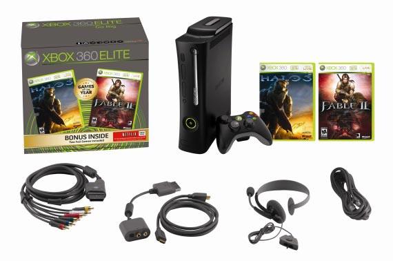 Microsoft Xbox 360 Elite Игровая приставка