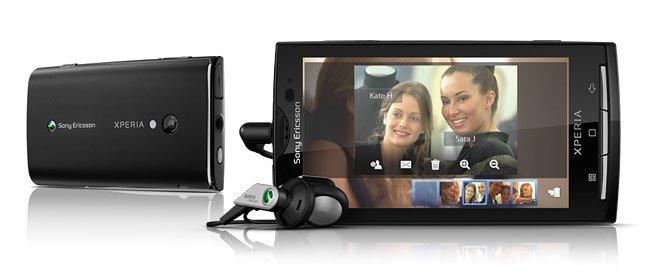 Sony Ericsson Xperia X10 Коммуникатор