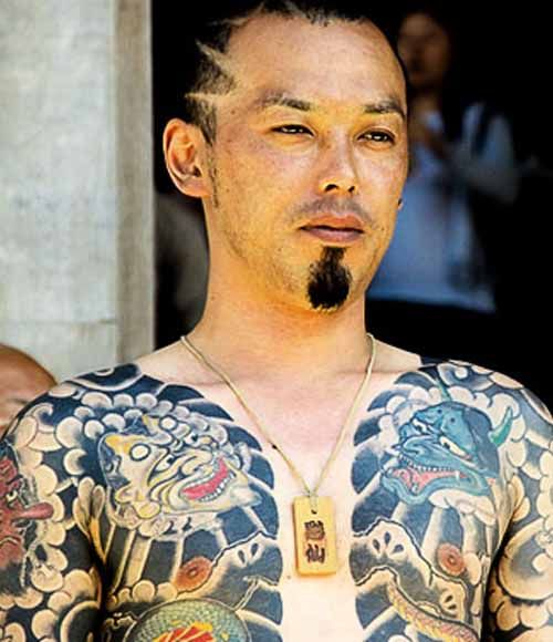 Татуировки китайских триад фото